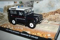 1:43 ALTAYA LAND ROVER DEFENDER JAMES BOND