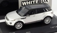 1:43 WHITE BOX RANGE ROVER EVOQUE 2011