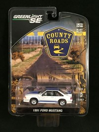 1:64 GREENLIGHT FORD MUSTANG 1991