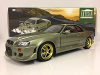 1:18 GREENLIGHT NISSAN GTR R34 1999