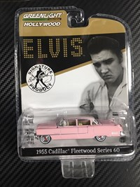 1:64 GREENLIGHT CADILLAC 1955 ELVIS