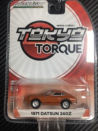 1:64 GREENLIGHT NİSSAN DATSUN 1971240Z