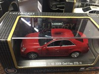 1:43 LUXURY CADİLLAC CTS 2009 Red