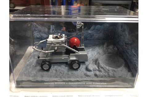 1:43 ALTAYA MOON BUGGY JAMES BOND