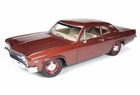 1:18 AUTO WORLD CHEVROLET BISCAYNE 1966