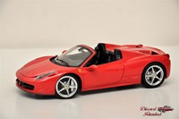 1:18 HOT WHEELS FERRARI 458 SPIDER 2011 ELİTE