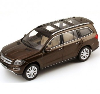 1:43  NOREV MERCEDES GL BROWN