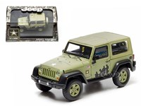 1:43 GREENLIGHT JEEP WRANGLER  ARMY GREEN