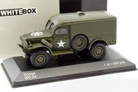 1:43 WHITE BOX DODGE WC54