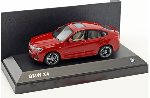 1:43 MINICHAMPS BMW X4