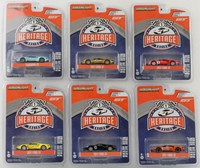 1:64 GREENLIGHT FORD GT 6 ADET SET