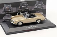 1:43 ATLAS MERCEDES 230SL 1963