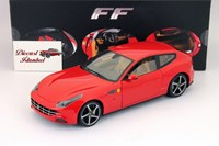 1:18 HOT WHEELS FERRARI FF RED ELITE