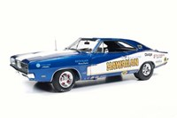 1:18 AUTO WORLD 1969 R/T  DODGE CHARGER