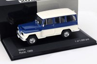 1:43 WHITE BOX WILLYS 1968