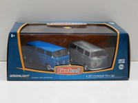 1:64 GREENLIGHT VOLKSWAGEN BUS 2 Lİ SET