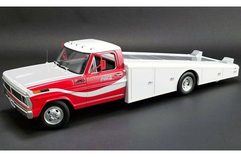 1:18 ACME ACME FORD 350 RAMP TRUCK 1970 COCA COLA