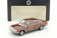1:18 NOREV MERCEDES 450 SEL BROWN  DEALER EDITION