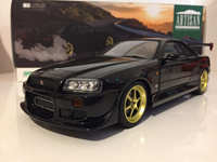 1:18 GREENLIGHT NISSAN GTR R34 1999 BLACK