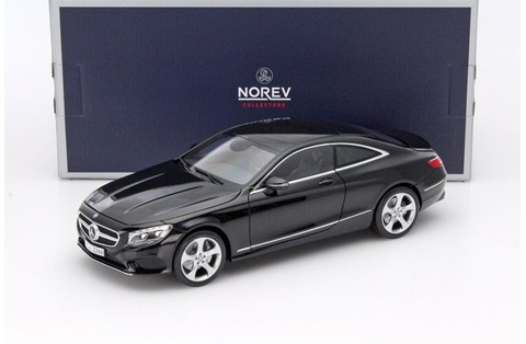 1:18 NOREV MERCEDES S COUPE BLACK