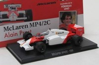 1:43 ALTAYA MC LAREN MP4/2C 1986  FORMULA1