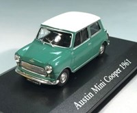 1:43 ATLAS AUSTIN MINI COOPER 1961