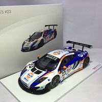 1 18 TRUE SCALE MC LAREN 12C GT3 GULF