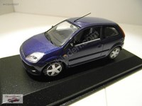 1:43 MINICHAMPS FORD FIESTA 2001 COUPE BLUE